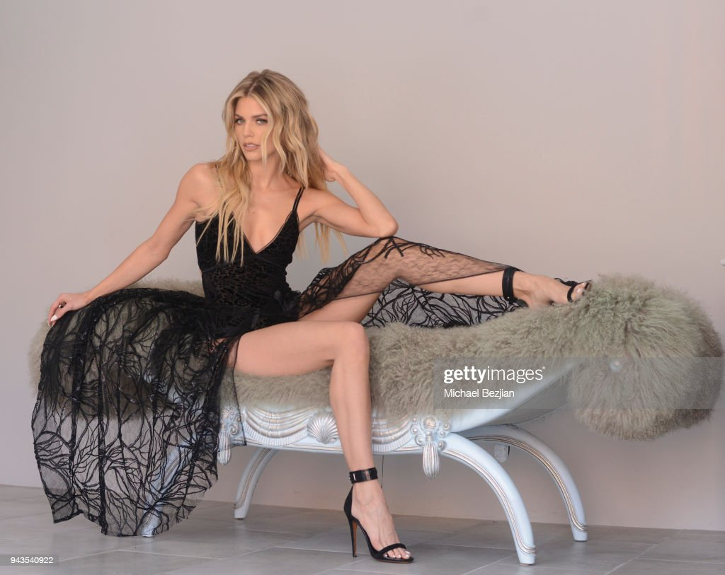 """Behind The Scenes Photo Shoot At AnnaLynne McCord's """"Makeup: Art And War"""""""