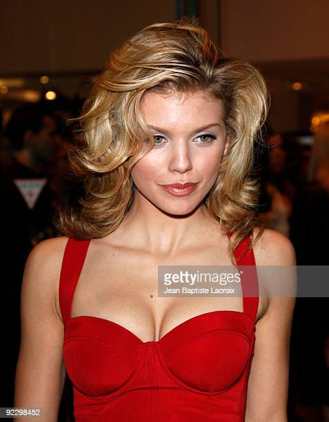 Annalynne McCord sighting in Beverly Hills on October 22 2009 in Los Angeles California