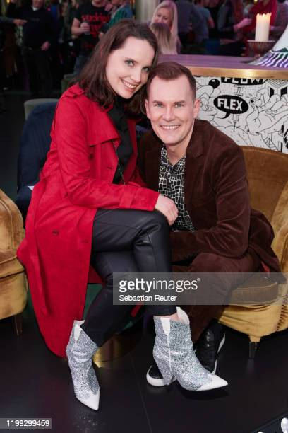 AnnaMaria Arkona and Malte Arkona attend the PEARL Model Management Fashion Aperitif at The Reed on January 13 2020 in Berlin Germany