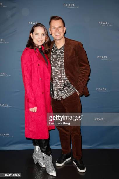 AnnaMaria Arkona and Malte Arkona during the PEARL Model Management Fashion Aperitif at The Reed on January 13 2020 in Berlin Germany