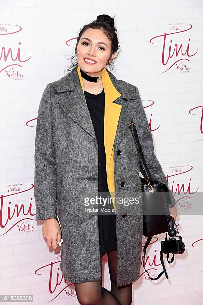 AnnaMaria Damm attend the Showcase Of Tini Violettas Zukunft on October 16 2016 in Berlin Germany
