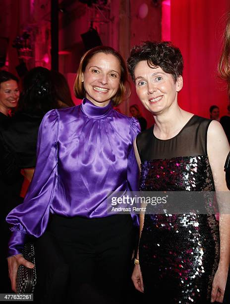 AnnaMaria Englebert and Nadja Werner attend the Glammy Award by Glamour Magazine on March 6 2014 in Munich Germany