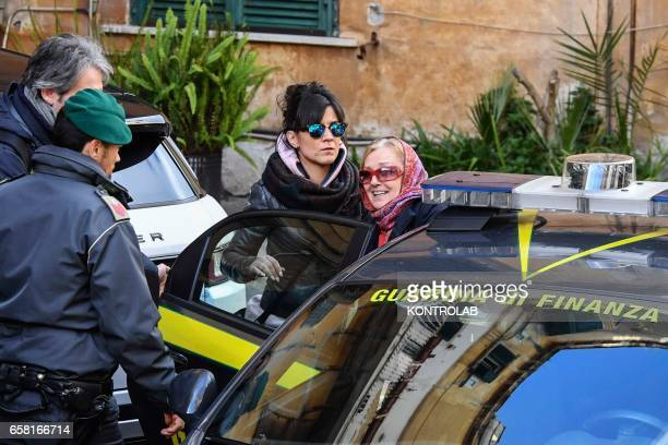 Annamaria Fontana the woman arrested in San Giorgio a Cremano city near Naples with husband Mario Di Leva in the international investigation on...