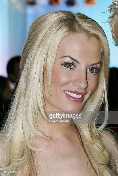 AnnaMaria Lagerblom poses during the Werder Bremen Green White Night 2006 on February 4 2006 at The Congress Centre in Bremen Germany
