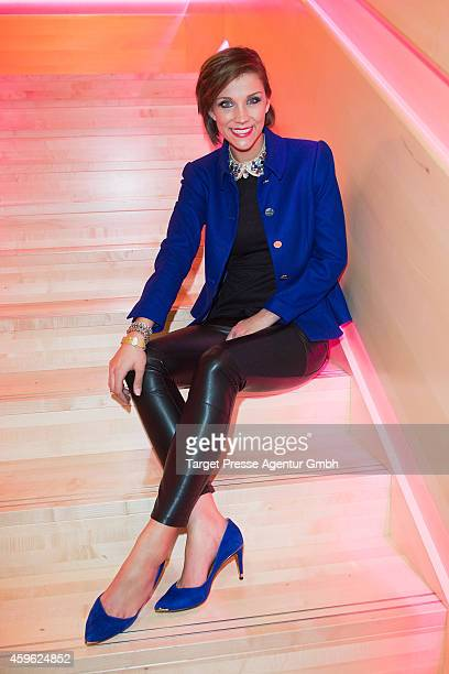 AnnaMaria Zimmermann attends the Smago Award 2014 at Best Western MOA Hotel on November 26 2014 in Berlin Germany