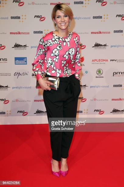 AnnaMaria Zimmermann during the 13th Live Entertainment Award 2018 at Festhalle Frankfurt on April 9 2018 in Frankfurt am Main Germany