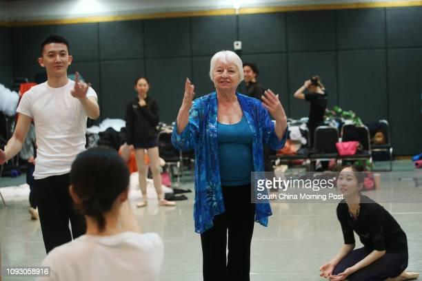 AnnaMarie Holmes choreographer and celebrated ballerina at Cultural Centre in Tsim Sha Tsui 10OCT17 SCMP / David Wong