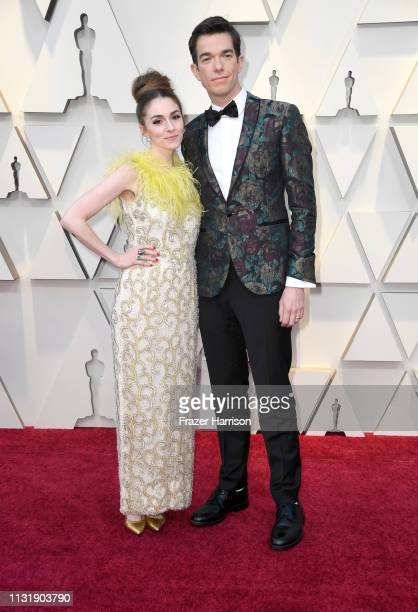 Annamarie Tendler and John Mulaney attend the 91st Annual Academy Awards at Hollywood and Highland on February 24 2019 in Hollywood California