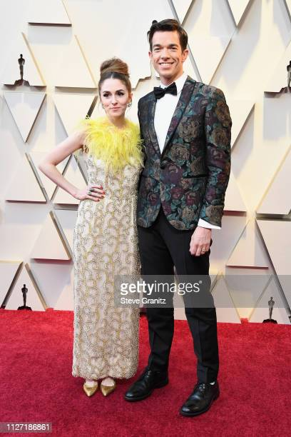 Annamarie Tendler and John Mulaney attends the 91st Annual Academy Awards at Hollywood and Highland on February 24 2019 in Hollywood California