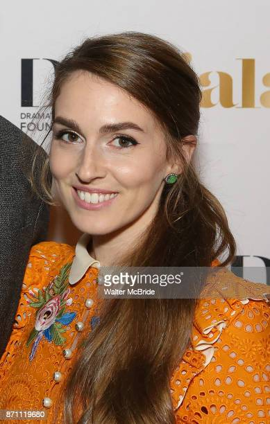 Annamarie Tendler attends the 2017 Dramatists Guild Foundation Gala reception at Gotham Hall on November 6 2017 in New York City
