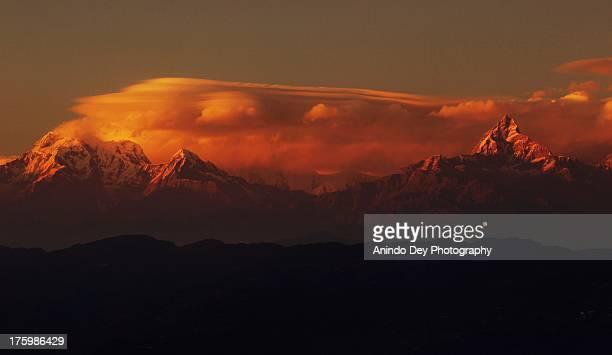 Annapurna and Machapuchare