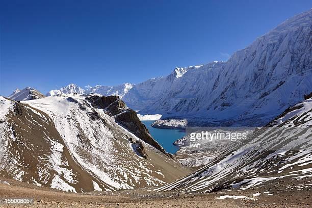annapurna. lhotse. everest. nepal motives. - gokyo lake stock pictures, royalty-free photos & images
