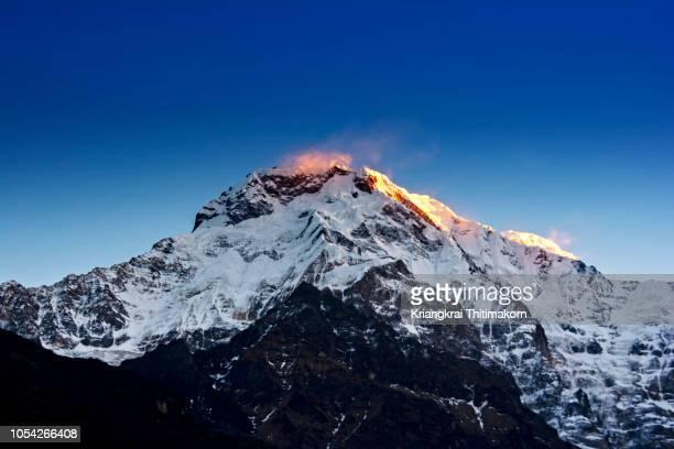 Annapurna Massif, Nepal.