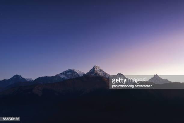 Annapurna Range.