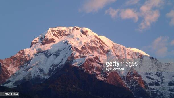 Annapurna South at Sunset