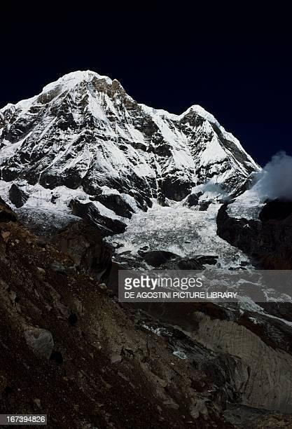 Annapurna South , Himalayas, Nepal.