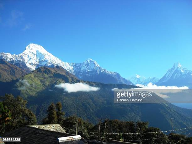 Annapurna South, Hiunchuli and Fish Tail