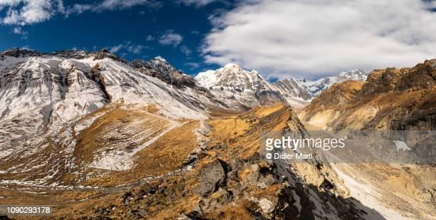 Annapurna south peak in Nepal
