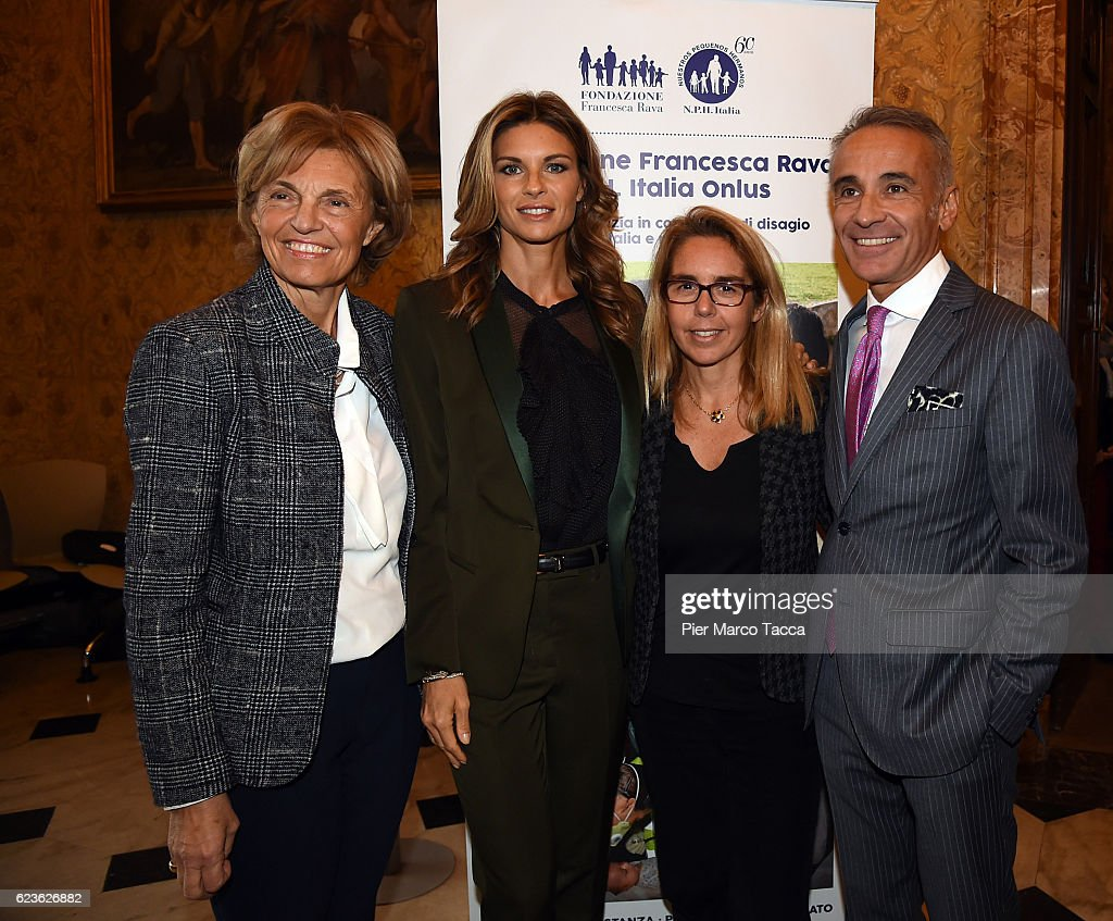 'In Farmacia Per I Bambini' Press Conference