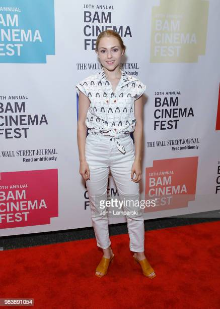 AnnaSophia Robb attends 2018 BAM Cinema Fest Centerpiece Screening Of 'Leave No Trace' at BAM Harvey Theater on June 25 2018 in New York City