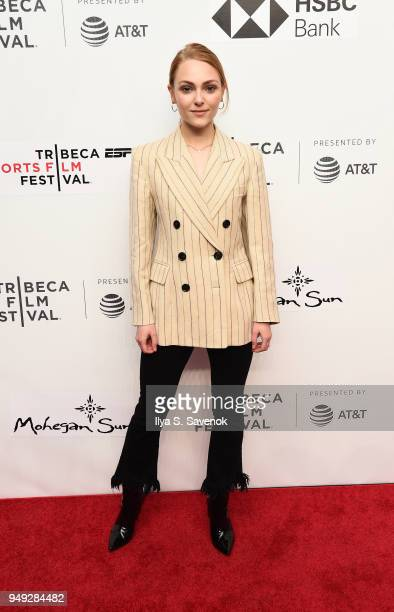 AnnaSophia Robb attends 'Bethany Hamilton Unstoppable' during 2018 Tribeca Film Festival at SVA Theatre on April 20 2018 in New York City