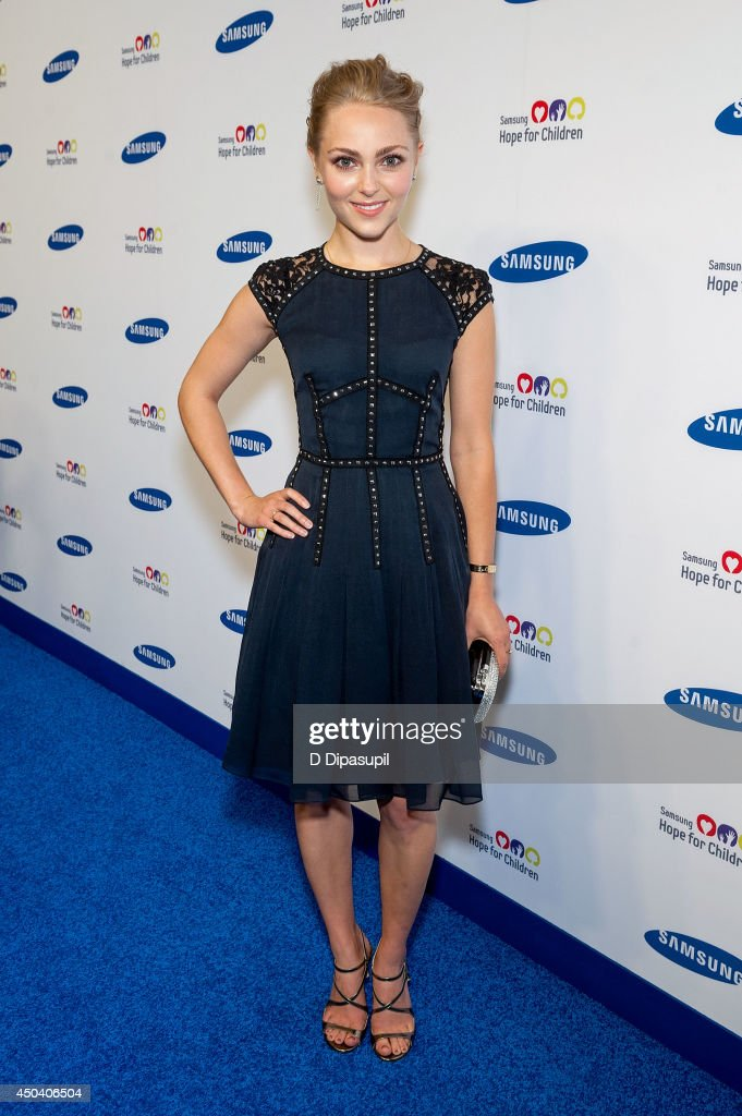 AnnaSophia Robb attends the 13th Annual Samsung Hope For Children Gala at Cipriani Wall Street on June 10, 2014 in New York City.