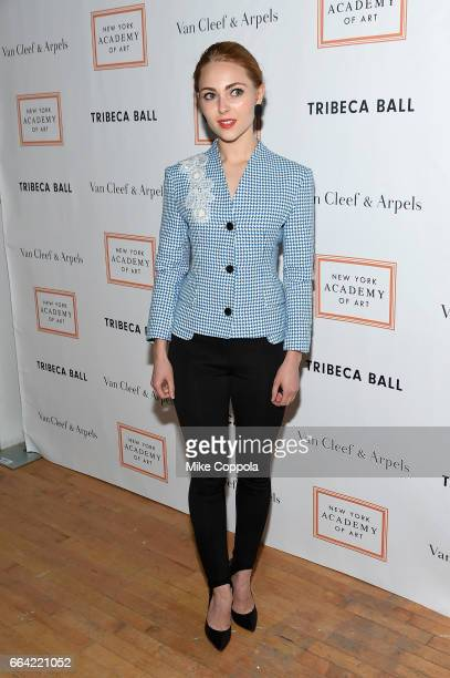 AnnaSophia Robb attends the 2017 Tribeca Ball at the New York Academy of Art on April 3 2017 in New York City