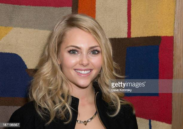 AnnaSophia Robb attends the after party for the screening of 'Thor The Dark World' hosted by The Cinema Society and Dior Beauty at The Marlton on...