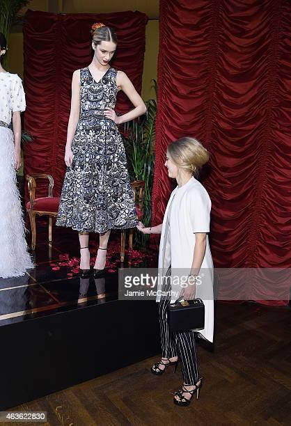 AnnaSophia Robb attends the Alice Olivia presentation during MercedesBenz Fashion Week Fall 2015 on February 16 2015 in New York City