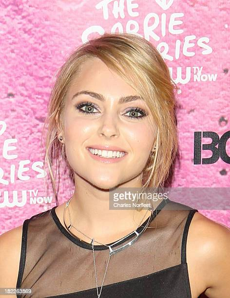 AnnaSophia Robb attends The Carrie Diaries Season Two Premiere Party hosted By Bongo September 28 2013 in New York United States