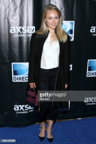AnnaSophia Robb attends the DirecTV Super Saturday Night at Pier 40 on February 1 2014 in New York City