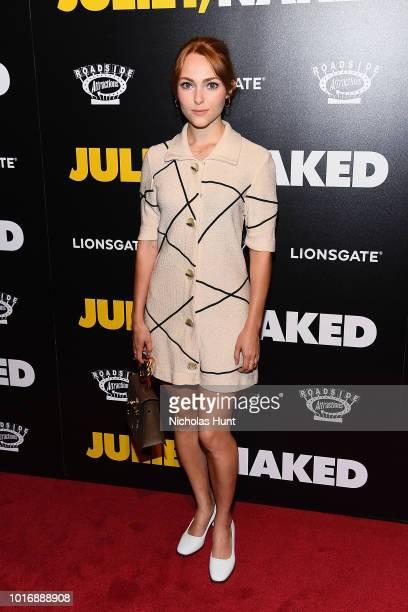 AnnaSophia Robb attends the Juliet Naked New York Premiere at Metrograph on August 14 2018 in New York City