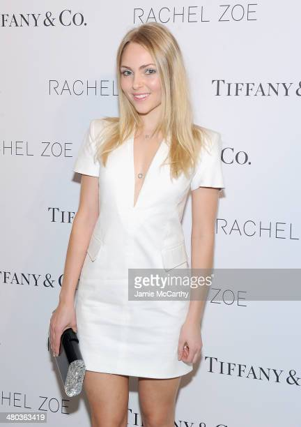 AnnaSophia Robb attends the 'Living In Style Inspiration and Advice for Everyday Glamour' at Tiffany Co on March 24 2014 in New York City
