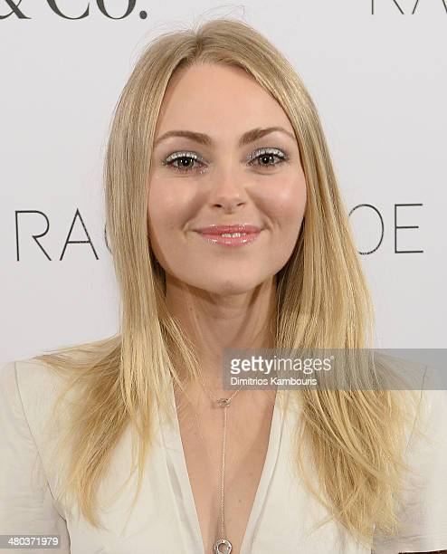 AnnaSophia Robb attends the Living In Style Inspiration and Advice for Everyday Glamour>> at Tiffany Co on March 24 2014 in New York City