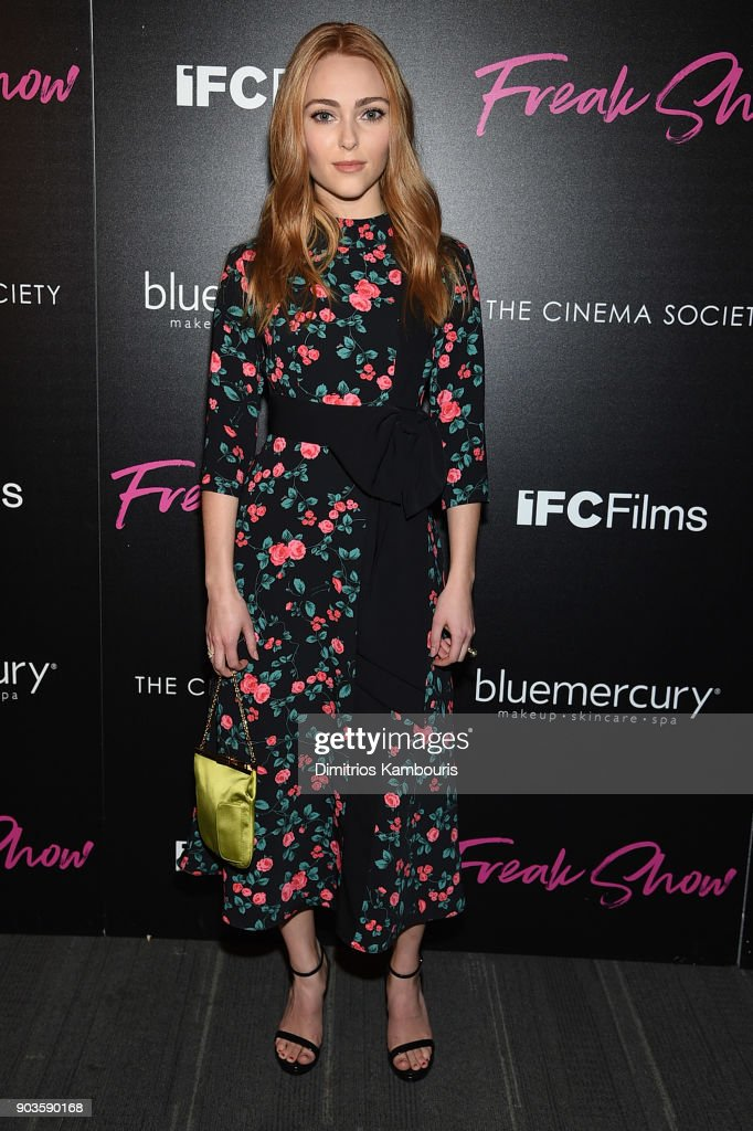 "The Cinema Society Hosts The Premiere Of IFC Films' ""Freak Show"""