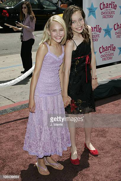 Annasophia Robb during 'Charlie and the Chocolate Factory' Los Angeles Premiere Arrivals at Grauman's Chinese Theater in Hollywood California United...