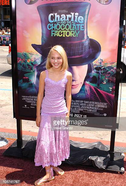 Annasophia Robb during 'Charlie and the Chocolate Factory' Los Angeles Premiere Arrivals at Chinese Theatre in Hollywood California United States