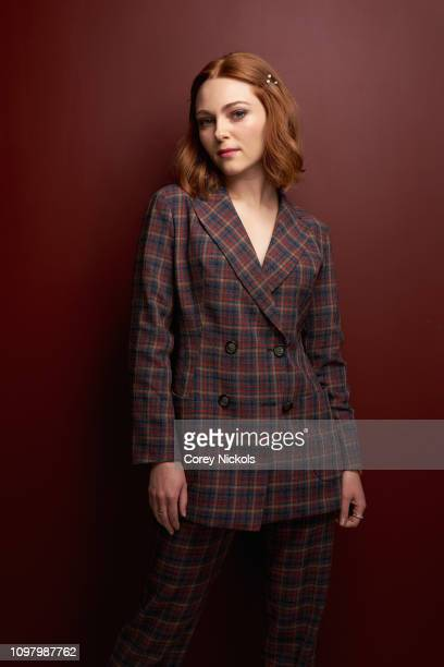 AnnaSophia Robb of Hulu's The Act poses for a portrait during the 2019 Winter TCA at The Langham Huntington Pasadena on February 11 2019 in Pasadena...