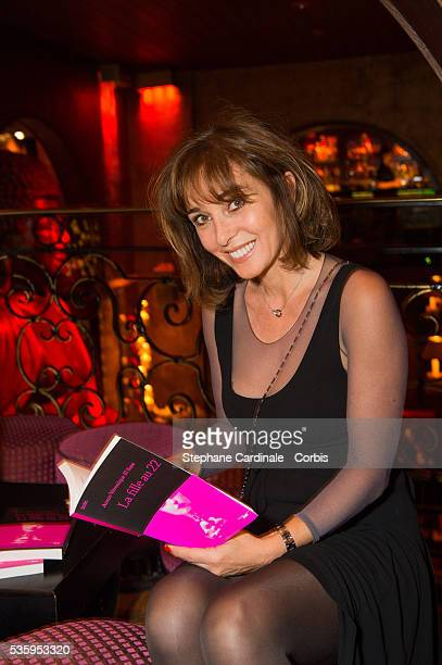 AnnaVeronique El Baze attends the book signing and cocktail party for 'La Fille Au 22' by AnnaVeronique El Baze at Buddha Bar on May 30 2016 in Paris...