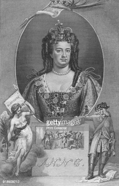 'Anne' 1790 Anne Queen of England Scotland and Ireland on 8 March 1702 On 1 May 1707 under the Acts of Union two of her realms the kingdoms of...
