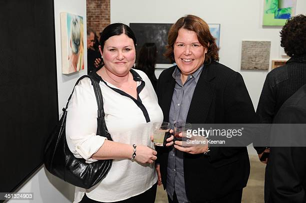 Anne and Tammy Brandt attend The Rema Hort Mann Foundation LA Artist Initiative Benefit Auction on November 21 2013 in Los Angeles California