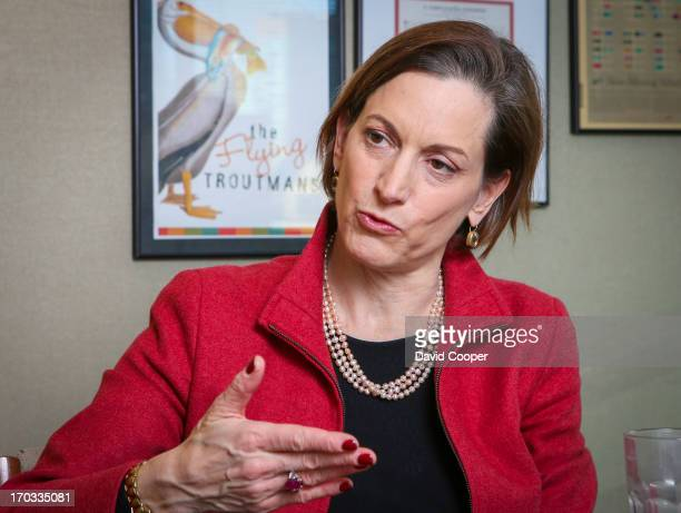 Anne Applebaum author of Iron Curtain chronicling life in Eastern Europe after Soviet takeover December 5 2012 DAVID COOPER/TORONTO STAR