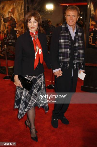 Anne Archer and husband during 'The Last Samurai' Los Angeles Premiere at Mann Village Theatre in Westwood California United States