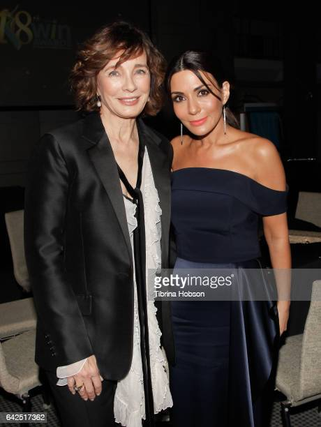 Anne Archer and Marisol Nichols attend the 18th Annual Women's Image Awards at Skirball Cultural Center on February 17 2017 in Los Angeles California