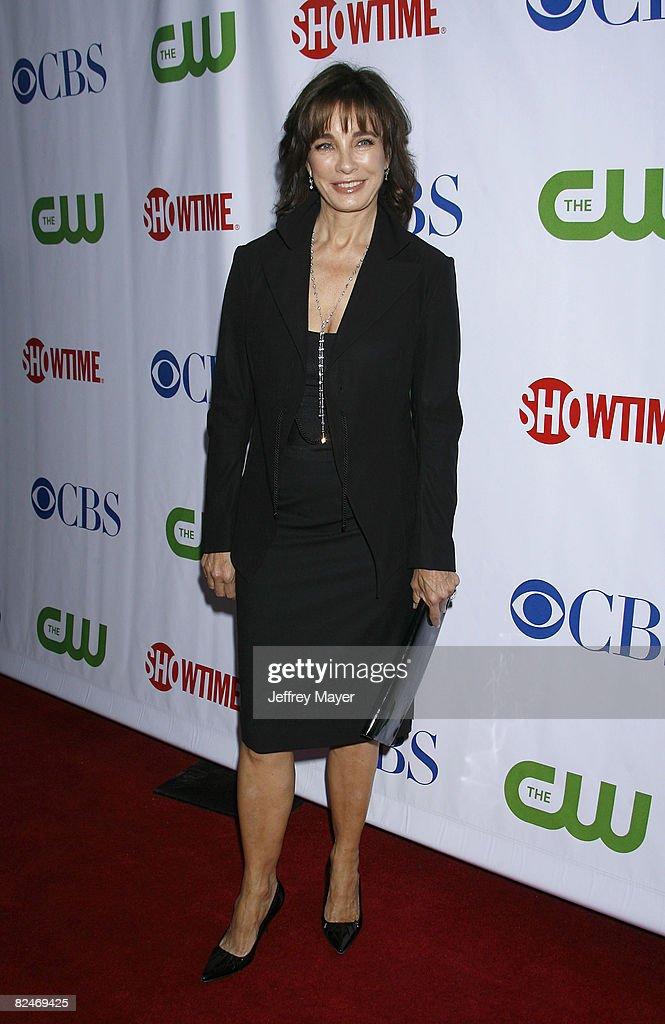 Anne Archer arrives at the CBS, CW & Showtime Press Tour