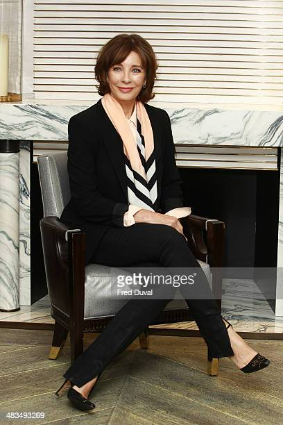 Anne Archer attends a photocall for 'The Trial of Jane Fonda' at Corinthia Hotel London on April 9 2014 in London England