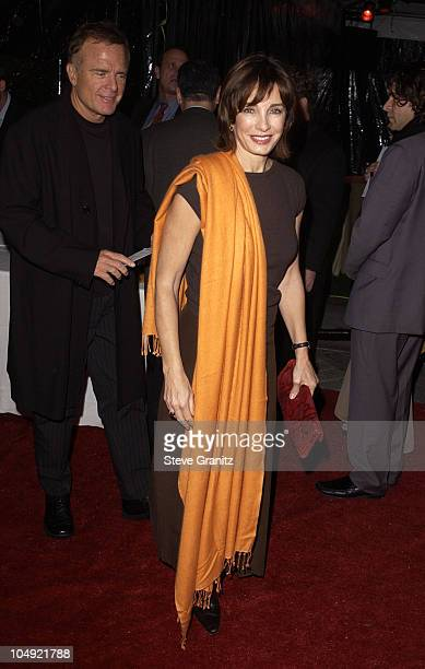 Anne Archer Husband during Domestic Disturbance Los Angeles Premiere at Paramount Pictures in Hollywood California United States