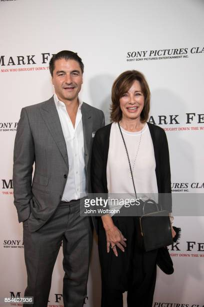 Anne Archer with son attends the premiere of Sony Pictures Classics' 'Mark Felt The Man Who Brought Down The White House' at Writers Guild Theater on...