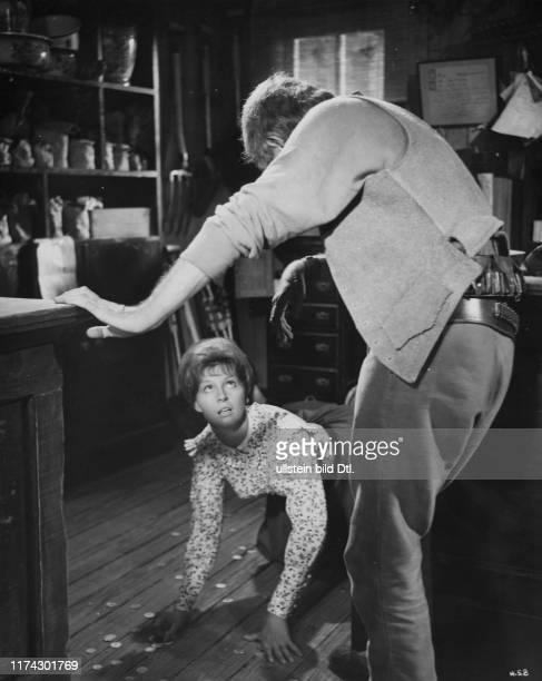 Anne Aubrey Lionel Jeffries in The Hellions 1962