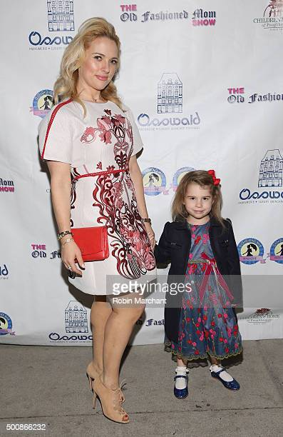 Anne Baker and daughter attend a shopping extravaganza benefiting The Children's Home of Poughkeepsie hosted by CEO and Publisher MichelleMarie...